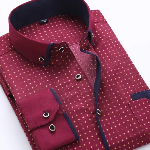 Casual αντρικό πουκάμισο. Photo 2