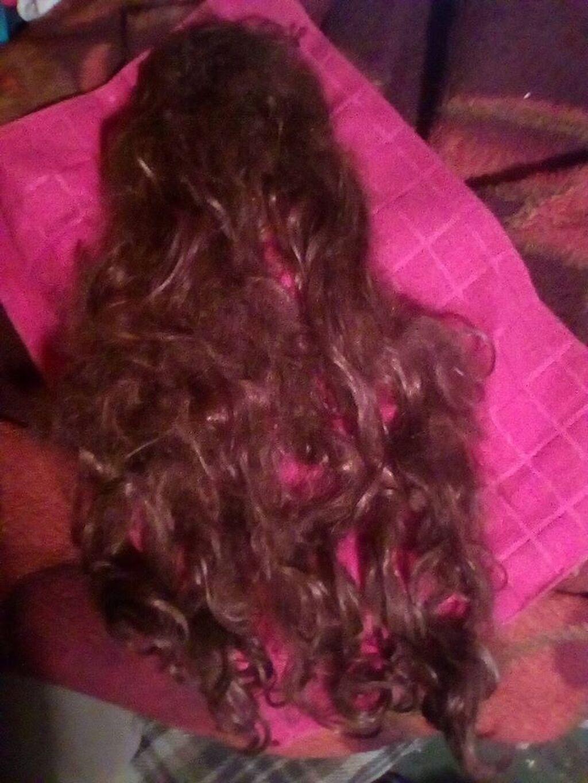 Perika od prirodne kose,duzina,60cm