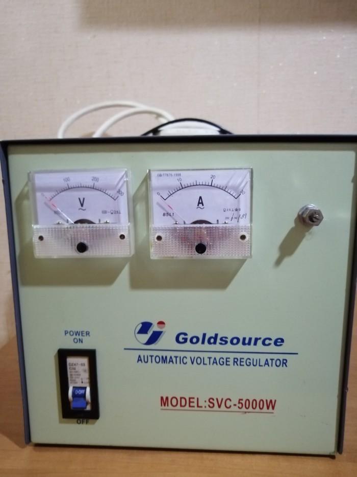 Продам стабилизатор напряжения 5000W.Турция.. Photo 0