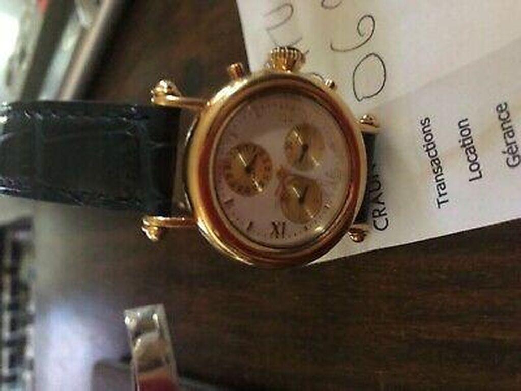 Διατίθεται άμεσα ρολόι Cartier Vintage σε χρυσό 24 καρατίων