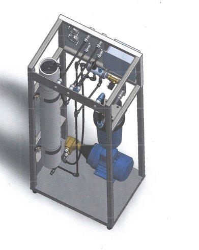 Μονάδα Αντίστροφης Όσμωσης , ιδανική για παραγωγή 4 m3/d σε Πειραιάς
