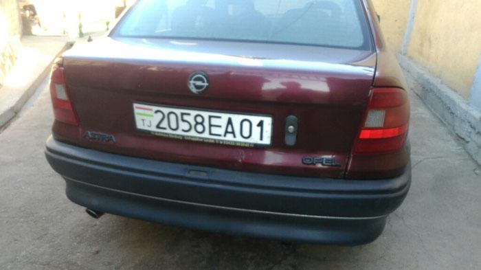 Opel Astra 1992. Photo 4