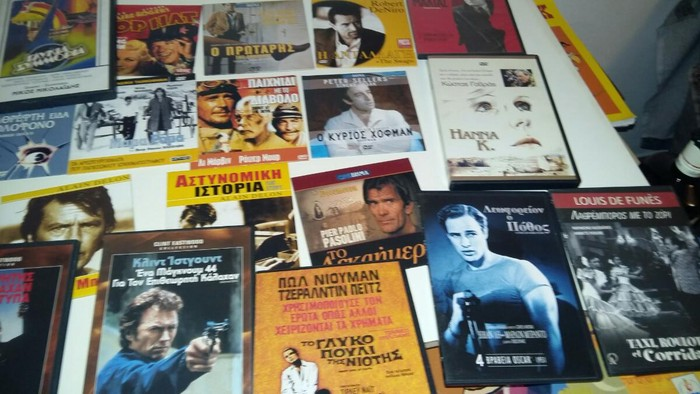 Dvds πάρα πολλά 0,50 - 1 € ανάλογα με την  ποσότητα. Photo 0
