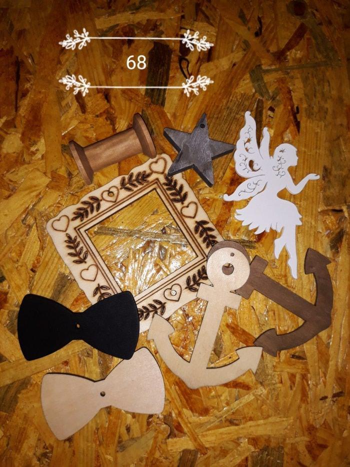 Ξυλινα διακοσμητικα διαφόρων σχεδιων. Photo 4