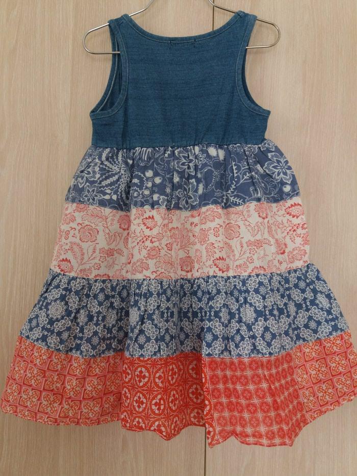 Φορεμα boho mandarino 2 ετων 92 εκ, 100% cotton. Photo 2
