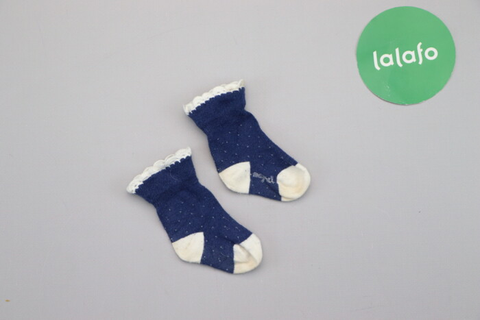 Дитячі шкарпетки    Довжина стопи: 8 см  Стан задовільний, є значні ка: Дитячі шкарпетки    Довжина стопи: 8 см  Стан задовільний, є значні ка