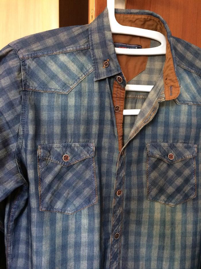 3104cea4e97 Новая мужская рубашка 46р. Турция. Цена окончательная. за 1000 KGS в ...