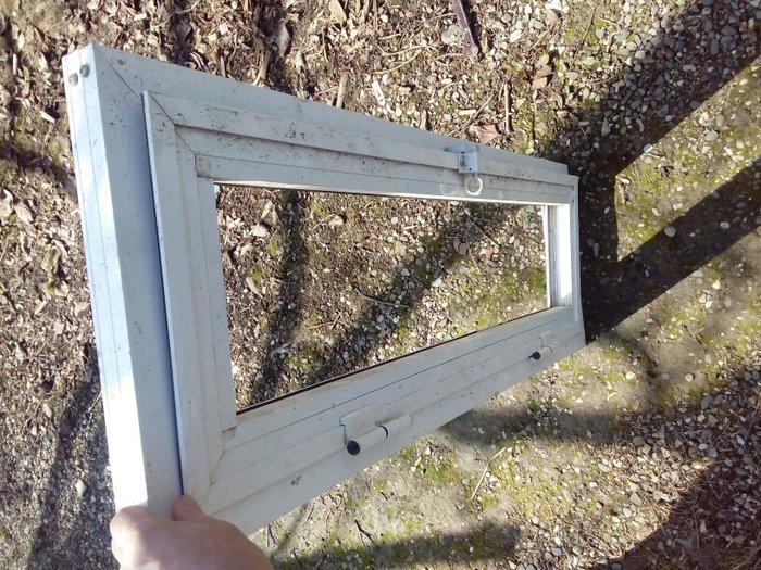 Plastik pencere hamamcin shushesi yoxdu.Xacmazda. Photo 0