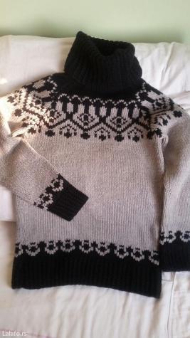 Ženski džemper vel. 16 rucni rad - Kragujevac