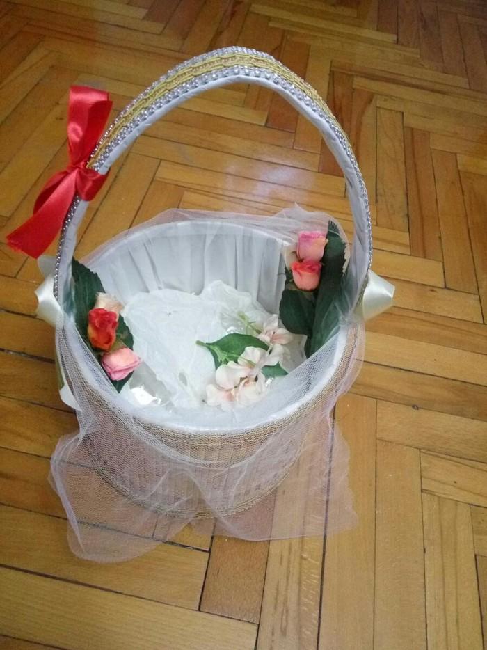 Корзина для подарков (хонча) в отличном состоянии. Photo 3