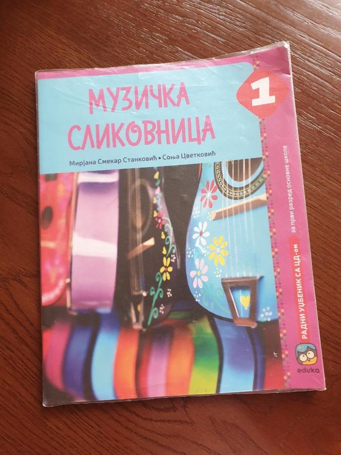 Knjige, časopisi, CD i DVD - Krusevac: Udzbenik muzicka slikovnica za 1 razred. Uz knjigu ide i cd original.