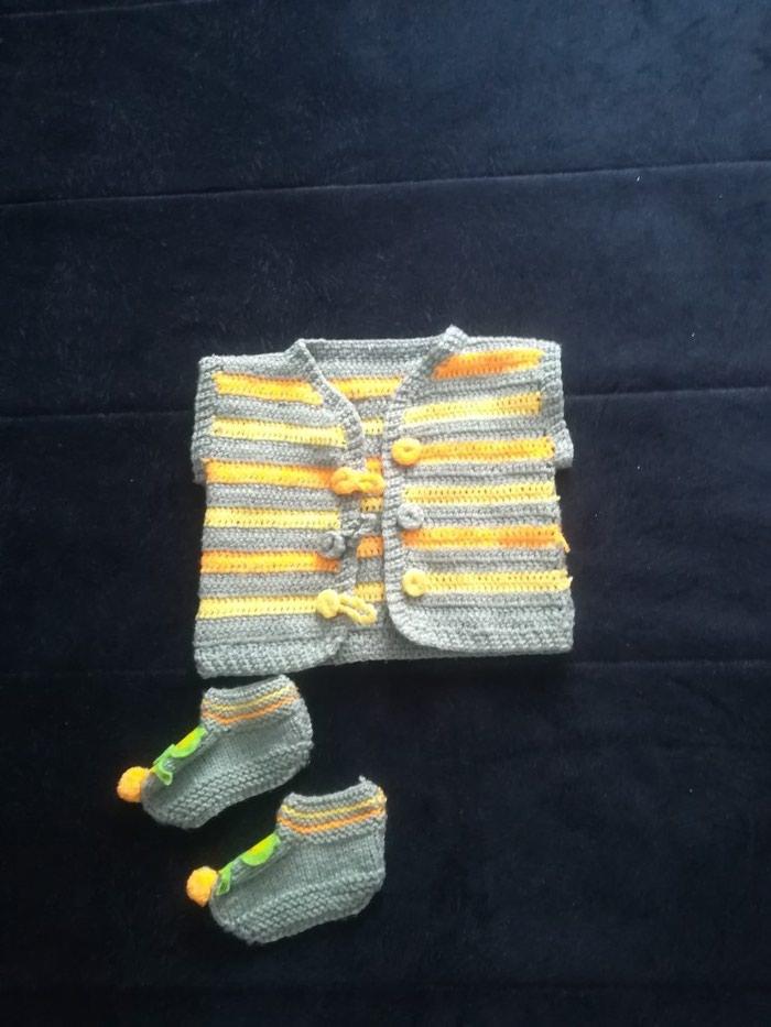 Dečije jakne i kaputi - Leskovac: Rucni rad, za bebu od 6-12meseci