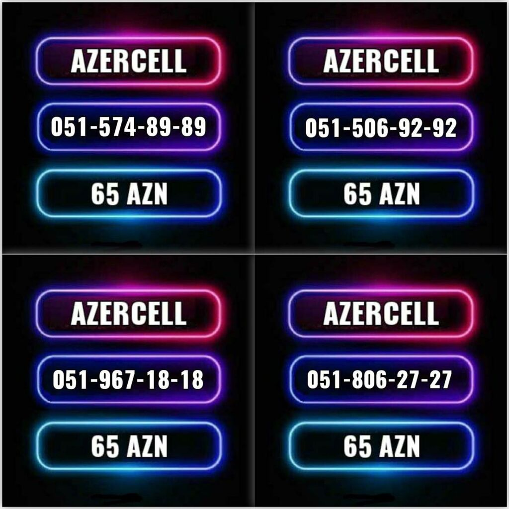 Yeni Azercell nomre