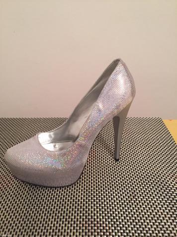 Nove srebrne cipele, ostao broj 40, rasprodaja - Beograd