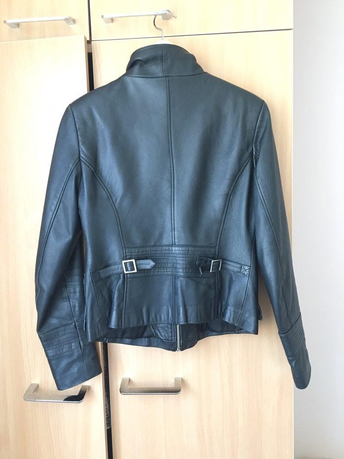 Kožna jakna(prava koža) Marka: Luciano (XXL ali zapravo L). Photo 1