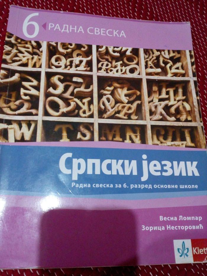 Radna sveska, Srpski jezik 6. razred, Klett. Photo 0