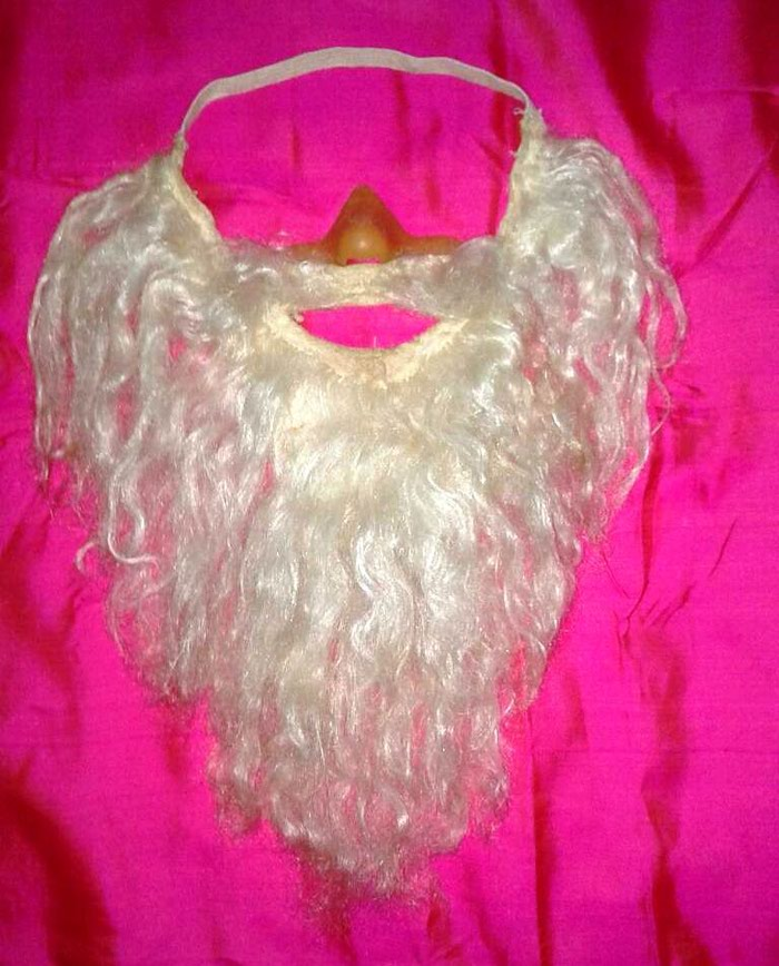 Борода  Деда  Мороза, подойдет  на  любой размер.. Photo 0