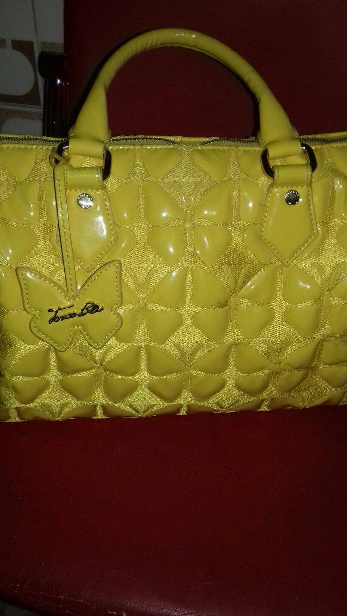Τσάντα καινούργια σε κίτρινο ανοιξιάτικη και καλοκαιρινή καινούργια σχ σε Υπόλοιπο Πειραιά