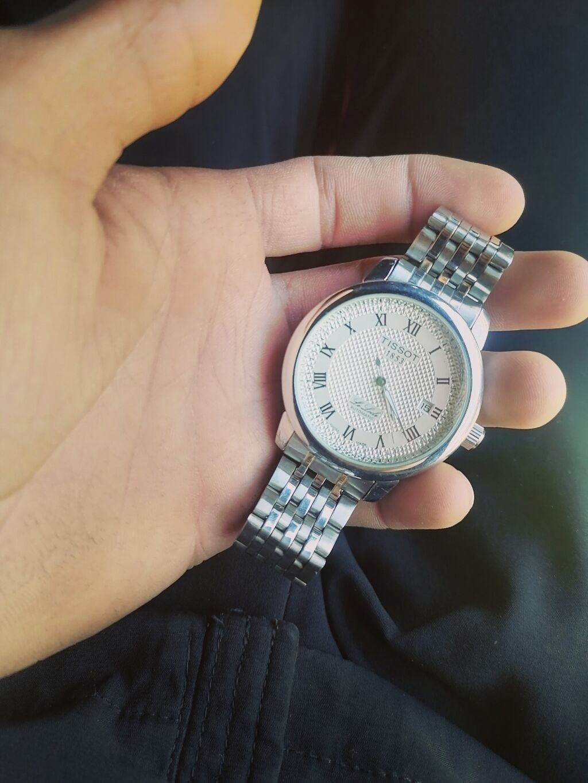 Серые Унисекс Наручные часы Tissot: Серые Унисекс Наручные часы Tissot