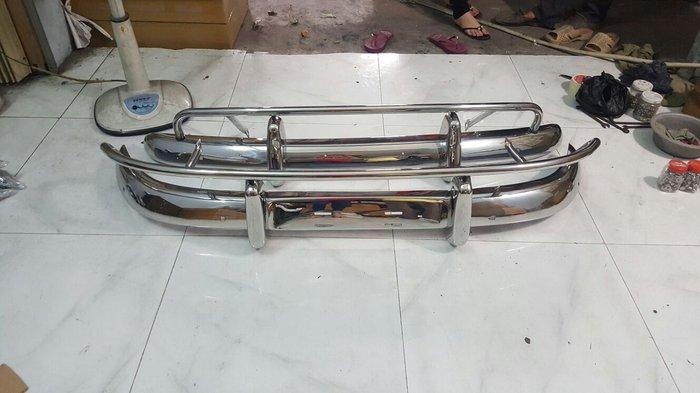 Volvo pv544 us, eu style stainless steel bumpers in Kathmandu