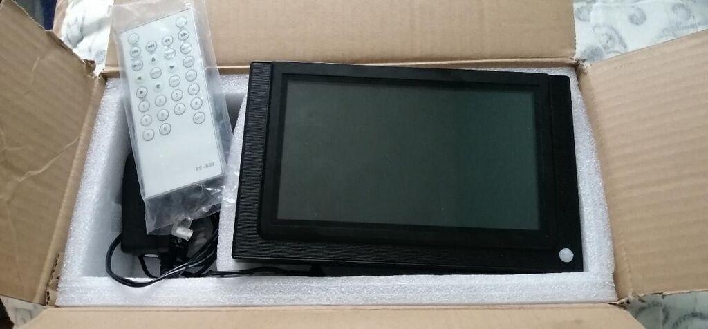 Monitor, 7 incha, pleyer, ima citace za sd karticu i usb. Novo