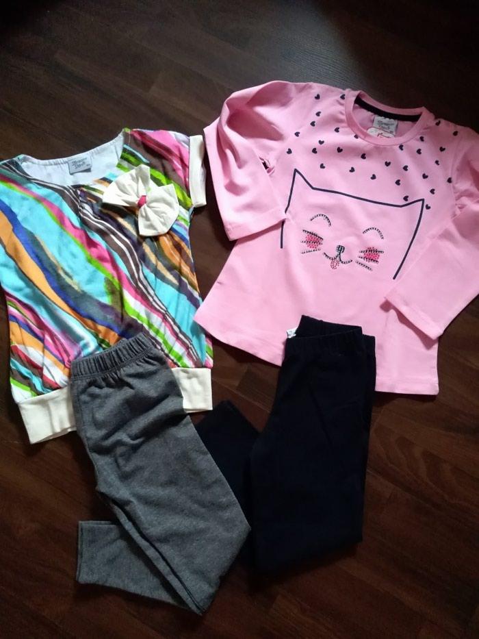 Paket nove garderobe za devojčicu. Veličina 4. Photo 0