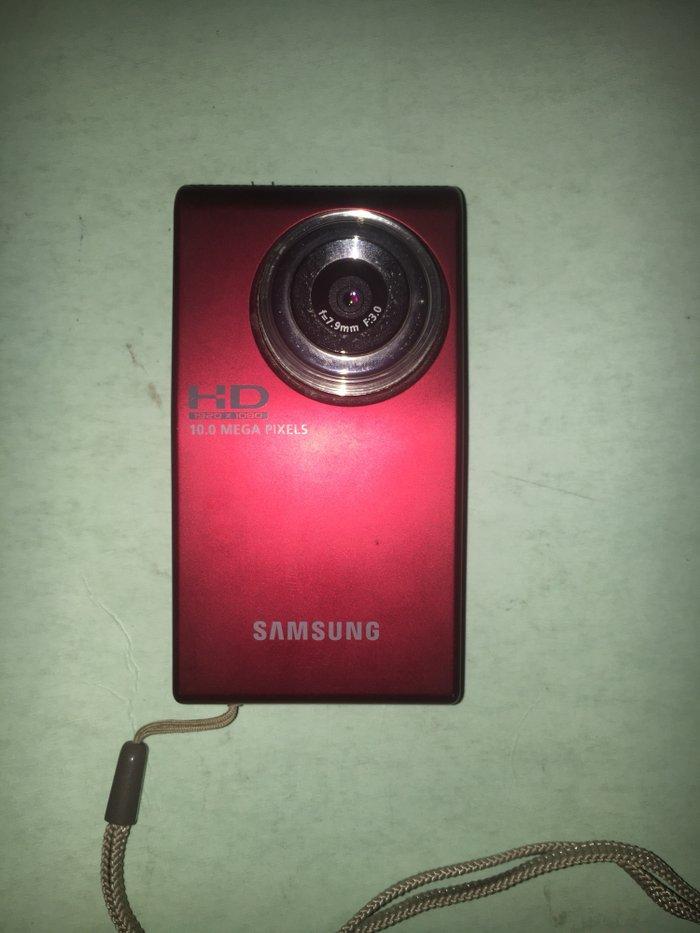 Φωτογραφικη μηχανη samsung 10.0 mp HD  Σε αριστη κατασταση κοκκινο χρω. Photo 0