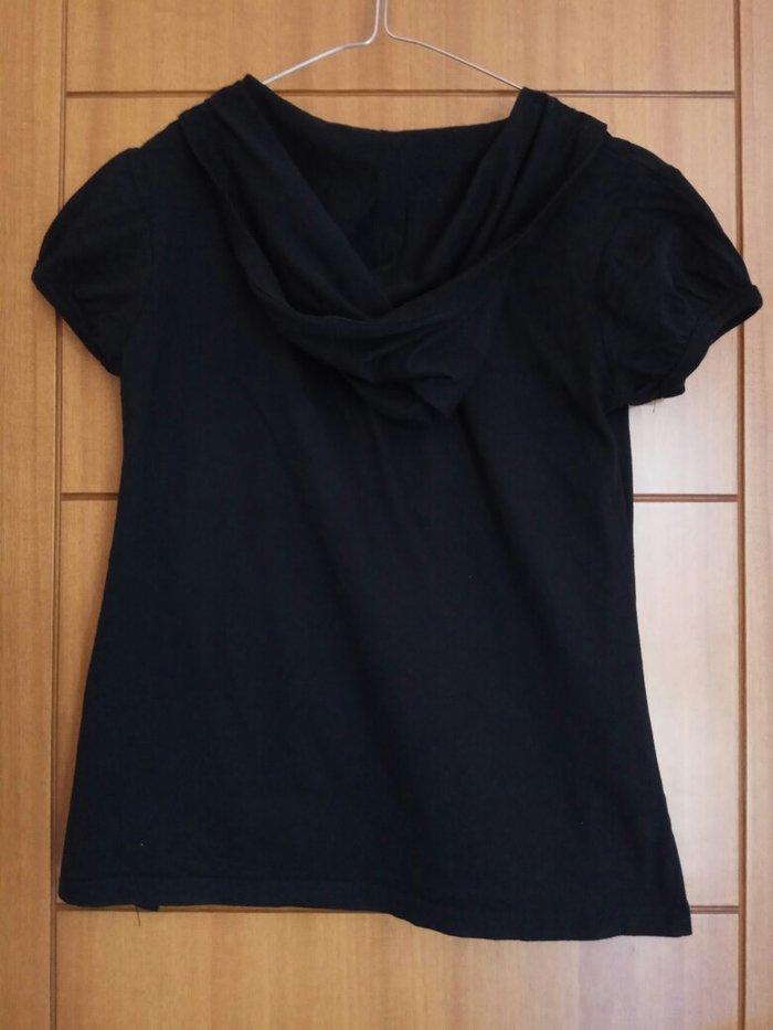 Μαύρο φανελάκι με κουκούλα la redoute. Photo 1