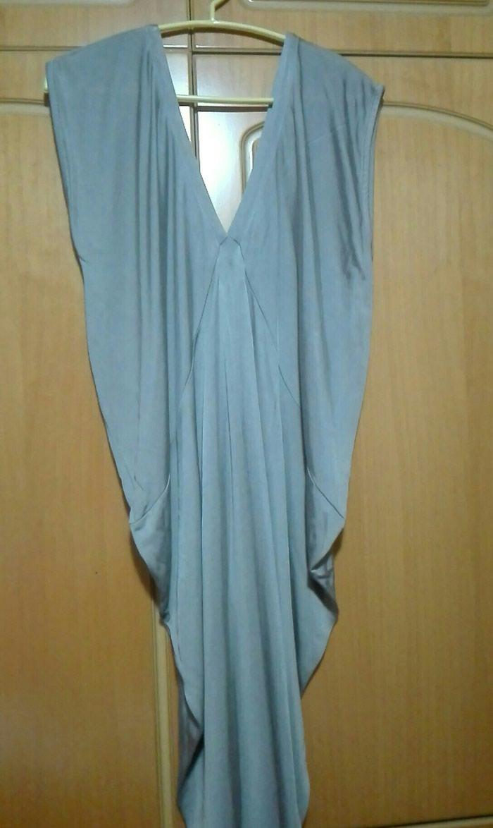 Φόρεμα γκρι ριχτο large σε Λαμία