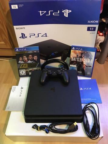 Sony Playstation 4 pro 1TB με 2 ελεγκτές και 5 δωρεάν παιχνίδια της επιλογής σας