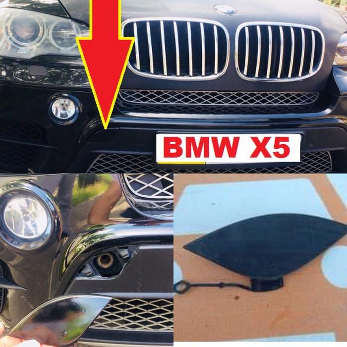 Заглушка буксировки на BMW X5 2012