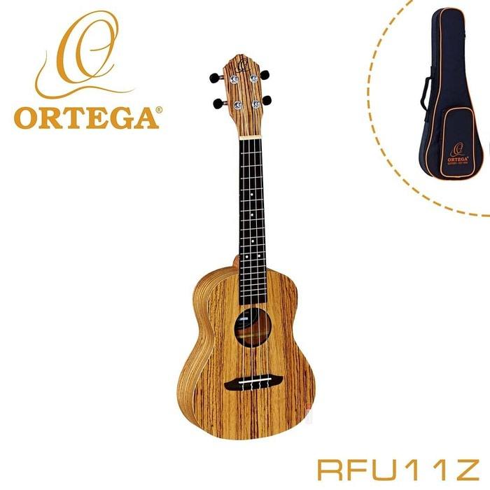 Укулеле концертная Ortega RFU11Z Friends Series, с чехлом