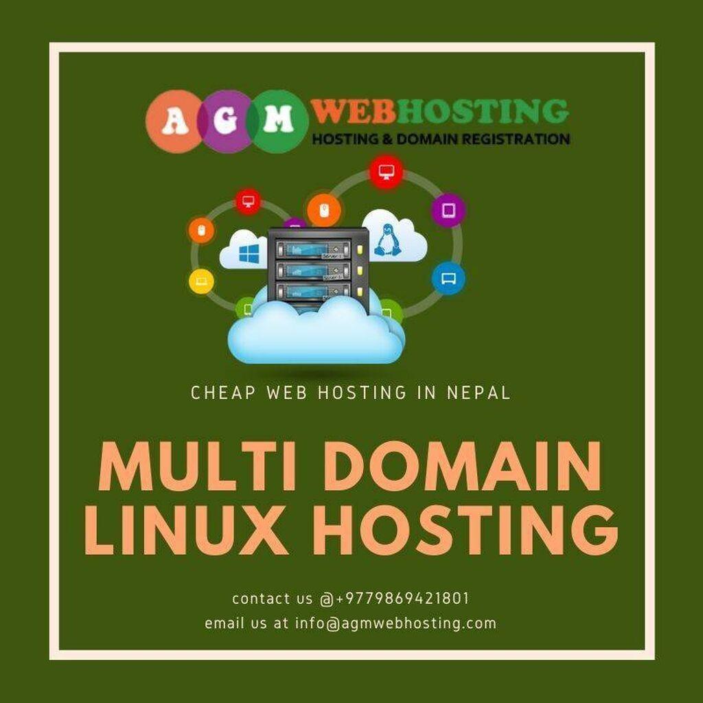 IT, Internet, Telekom - Kathmandu: Linux  multi domain hosting plans at  just  699/month AGM WEB HOSTING.