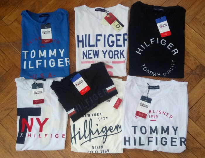 TOMMY,POLO,NIKE,DSQUARED...EXTRA MAJICE L,XL. Photo 1