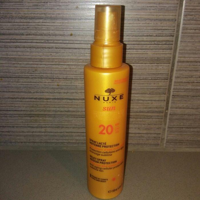 Nuxe αντιηλιακο με spf 20. περιεχει 140 ml.. Photo 0