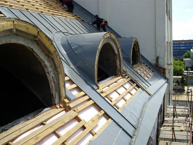 Ремонт крыш