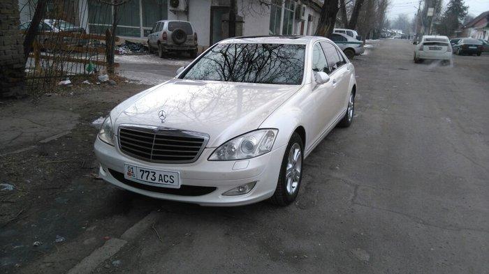 мерседес бенц s 350l продаю не спеша мерс 221 2007 год в отличном сост в Бишкек