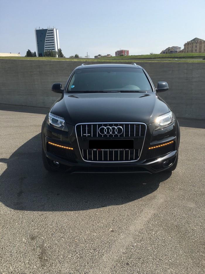 Audi Q7 2014. Photo 0