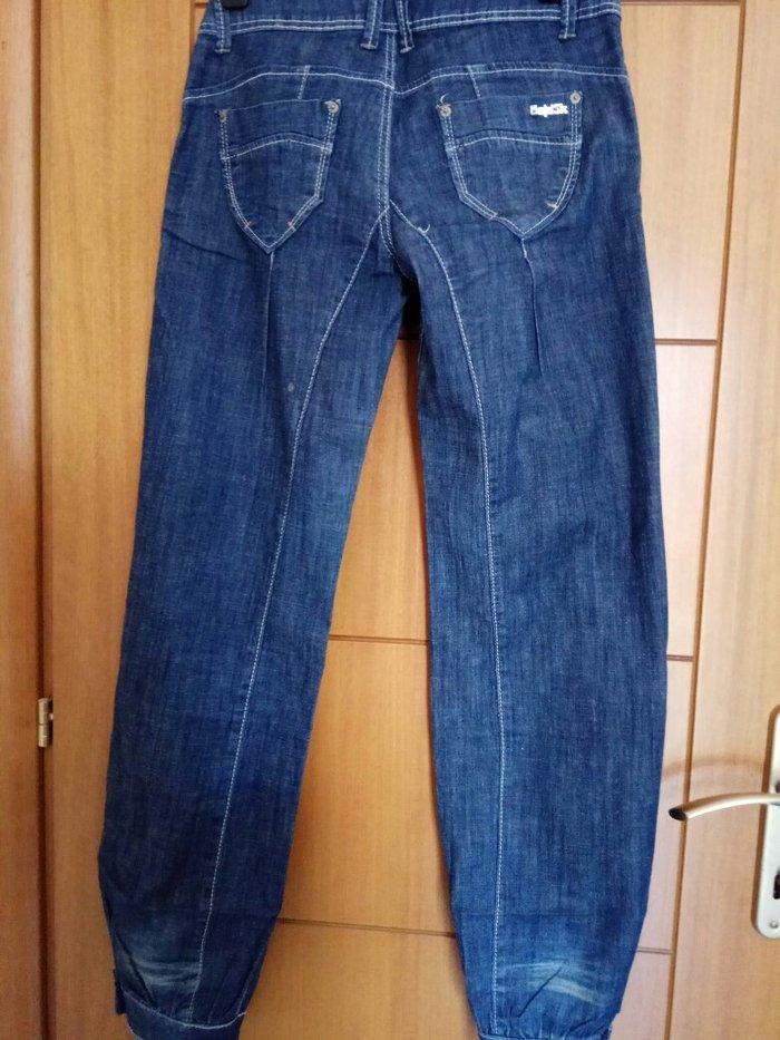 Παντελόνι τζιν φαρδύ σχεδόν αφορετο. Photo 2