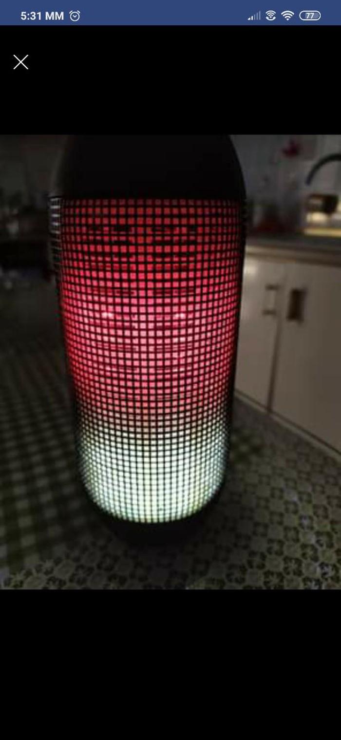 Ηχειο with led light. Photo 6