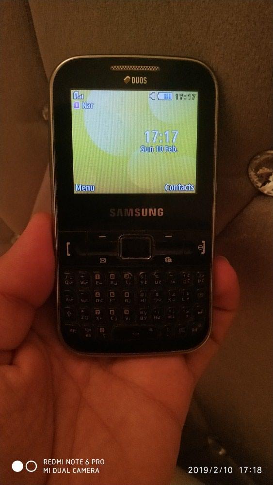 Bakı şəhərində Samsung GT-C3222 markalı mobil telefonu satılır. İşləkdir.