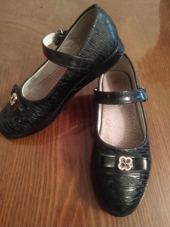 Туфли для девочек школьные Царица 29размер в хорошем состоянии. Photo 1