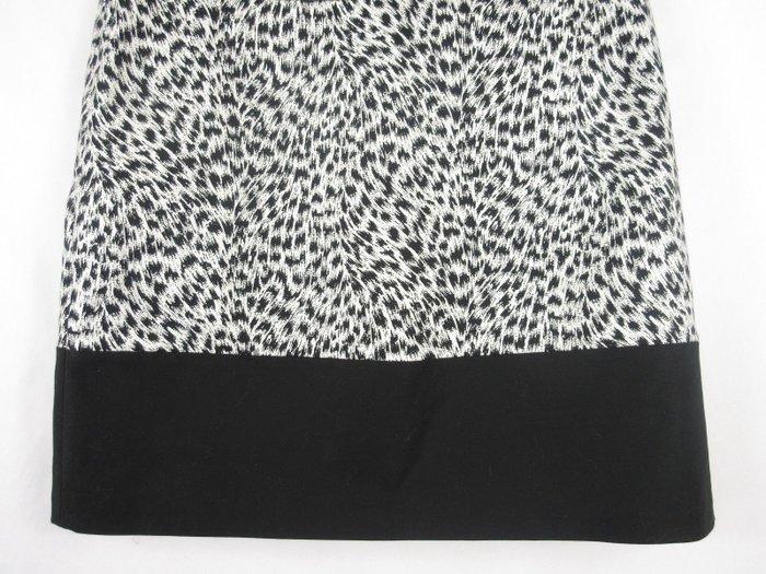 Καινούργια Michael By Michael Kors animal print μινι λευκή φούστα με μ. Photo 2