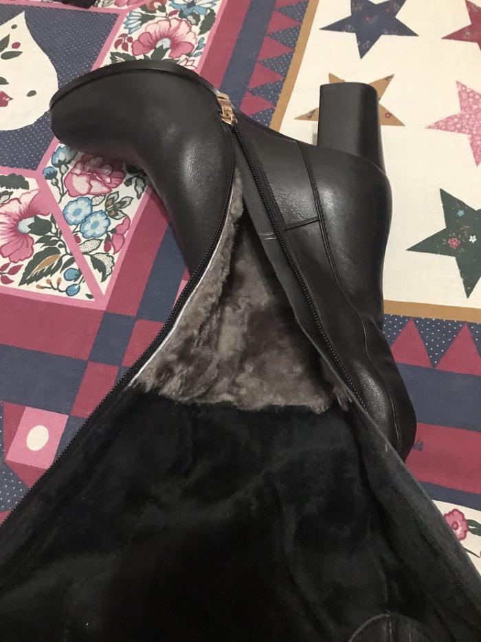 Женские сапоги, европейка, италия, размер 37, натуральная кожа в Покровка