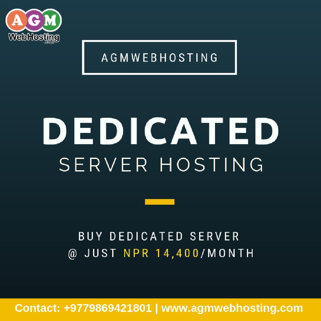 Give your business the world class importance and functionality with Dedicated Server Hosting