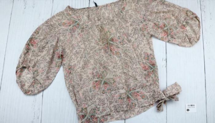 Товар: Блуза женская NAFNAF, с цветочным принтом, размер 36, 8588