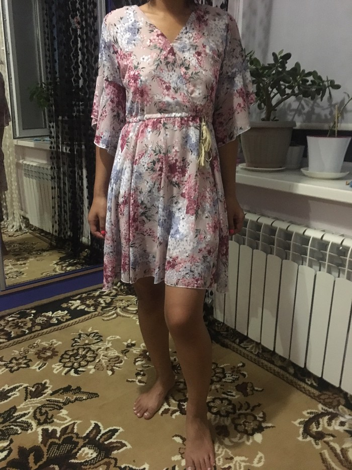 Новое платье шифон,размер м(44/46)Бишкек. Photo 0