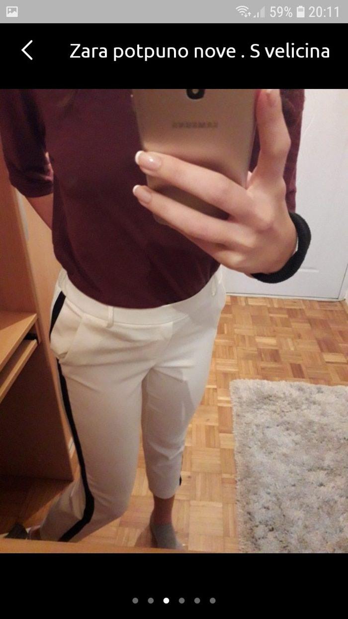 Zarine bele pantalone S velicina potpuno nove