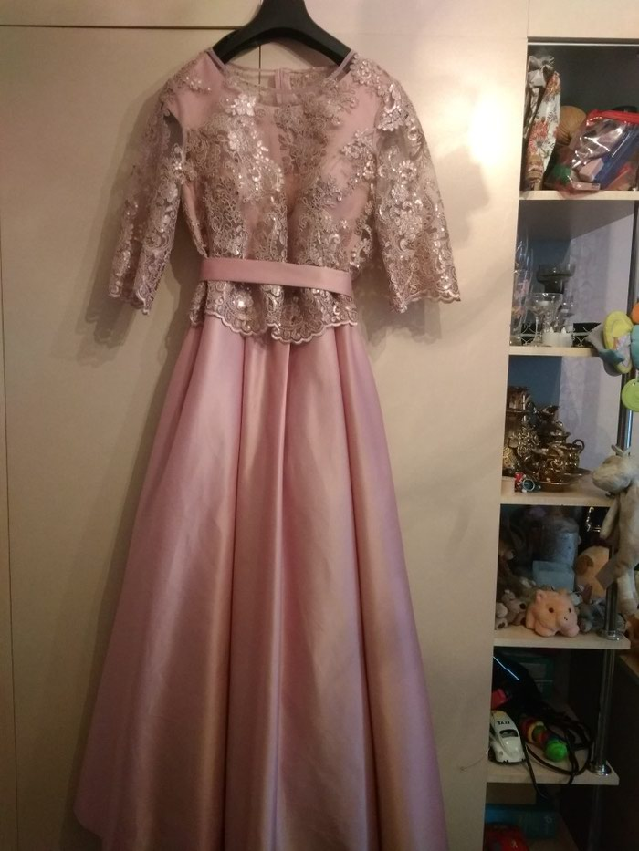 9d5837f26b74056 Вечернее платье, одевала один раз, за 2200 KGS в Бишкеке: Платья на ...
