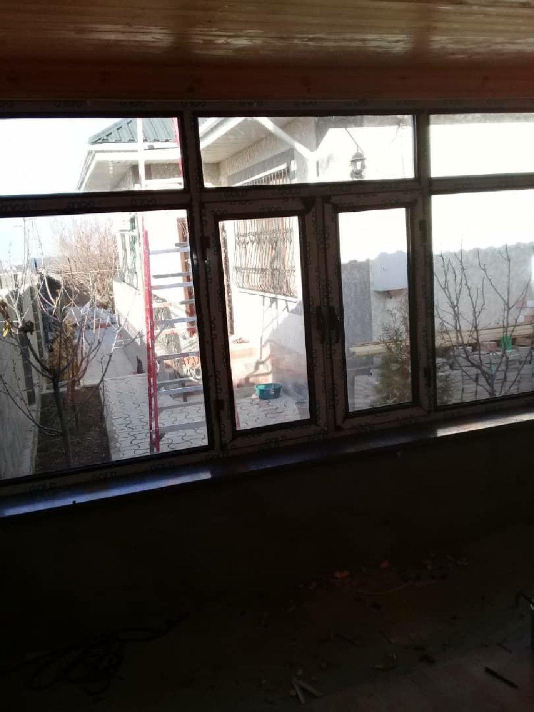 Окна, двери, витражи - Бишкек: Алюминь  Окна Алюминь окна